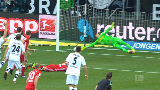 Bundesliga: 25. haftanın en iyi 5 kurtarışı