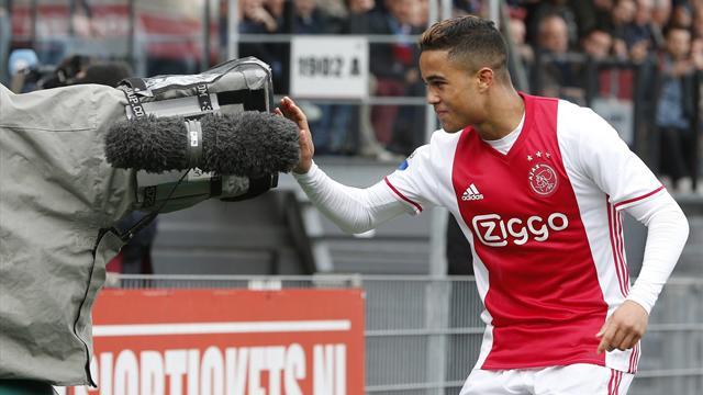 10 Jahre nach Papa: Justin Kluivert trifft für Ajax