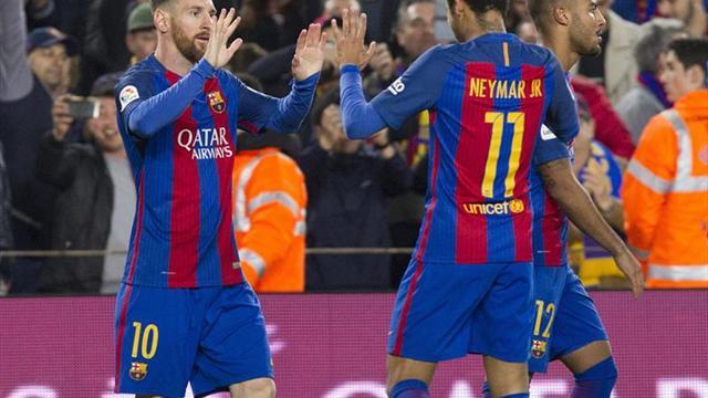 4-2. Messi mantiene vivo al Barça en la Liga