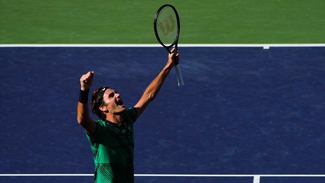 """Roger Federer: """"Esto prosigue mi regreso de cuento de hadas"""""""