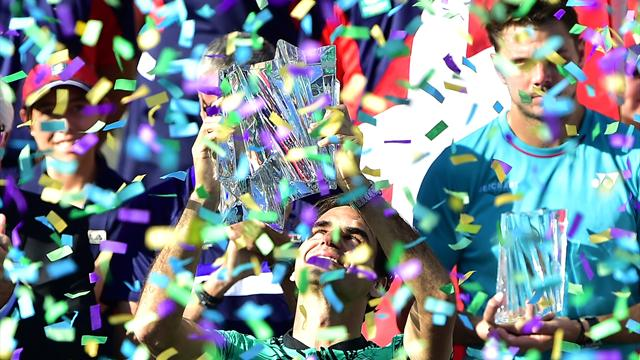 35 años no son nada para el mejor Roger Federer