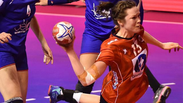 Danmark lett match for håndballjentene