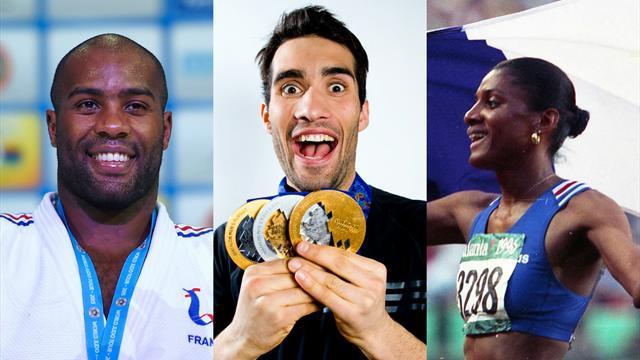 Le Top 10 des Français les plus dominateurs dans leur sport