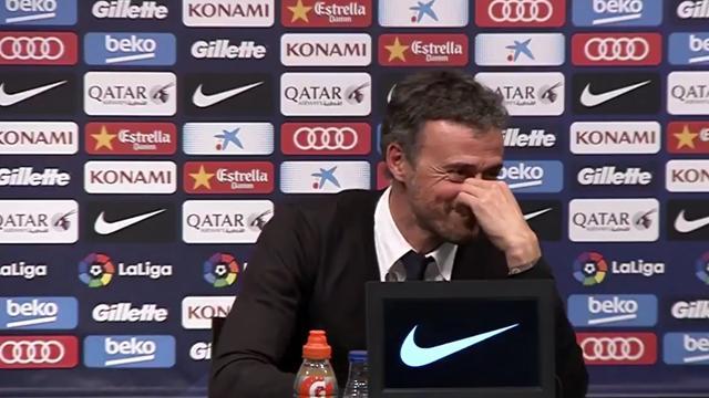 Журналист заснул на пресс-конференции «Барселоны», но Энрике его разбудил