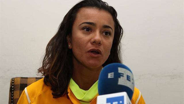 La brasileña Erica de Sena ganó los 20 kilómetros marcha de Monterrey