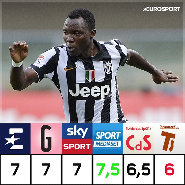 Asamoah pagelle