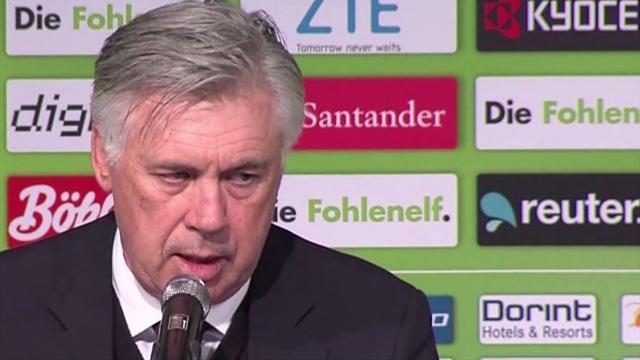"""Ancelotti: """"Das habe ich so nicht erwartet"""""""
