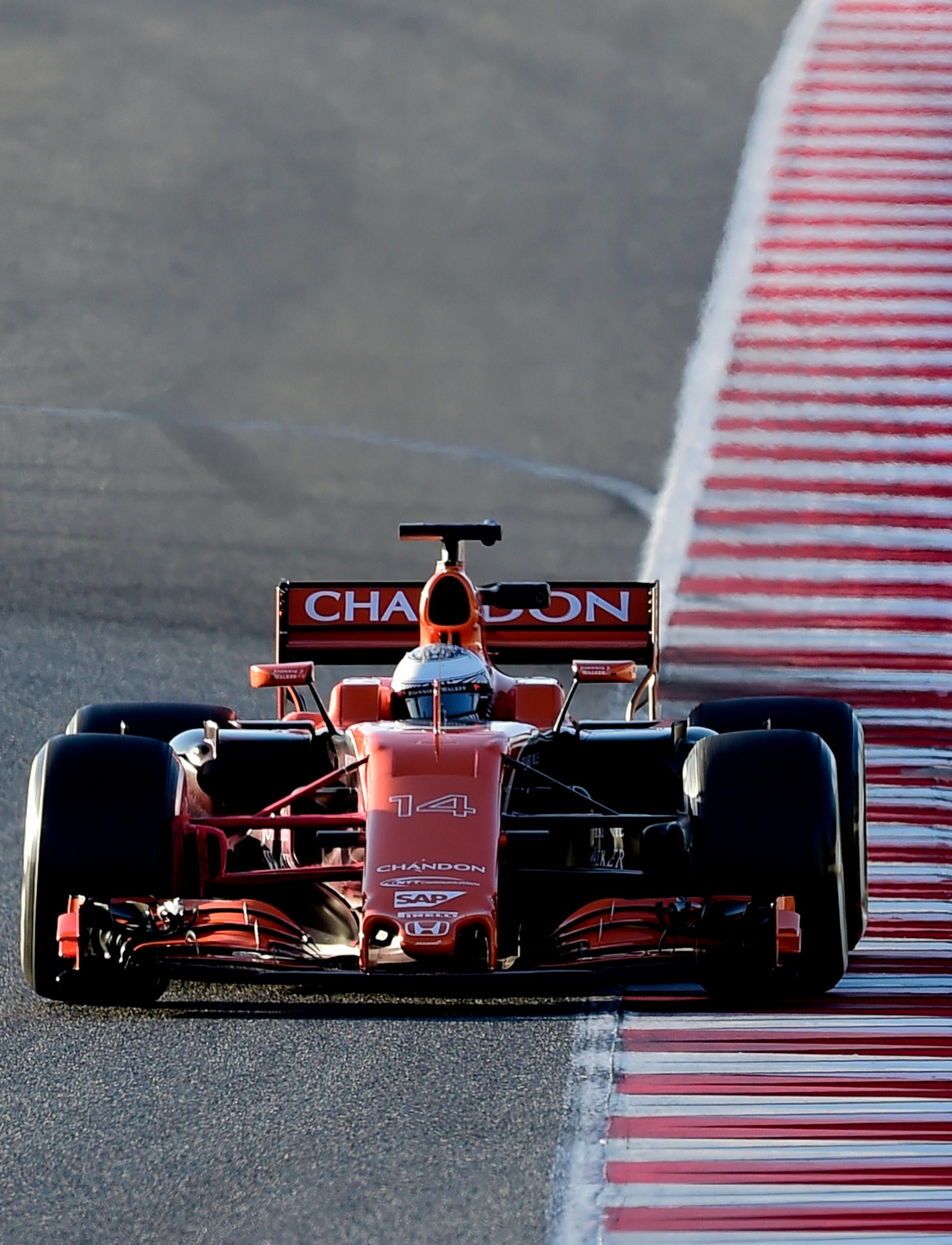 Fernando Alonso (McLaren) - Tests Montmelo 2 2017