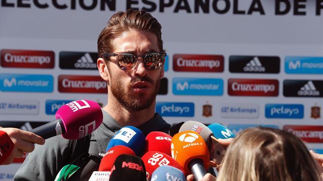 """Sergio Ramos: """"A Piqué y a mí nos gusta tirarnos alguna piedrecita"""""""