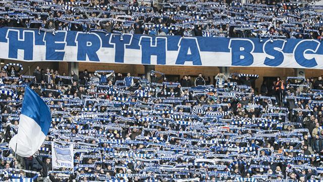 Hertha-Fans mussten in Hannover Zug verlassen