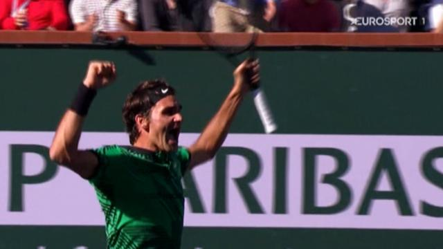 ROLEX MINUTE: Rejuvenated Roger stars in thrilling fortnight at Indian Wells