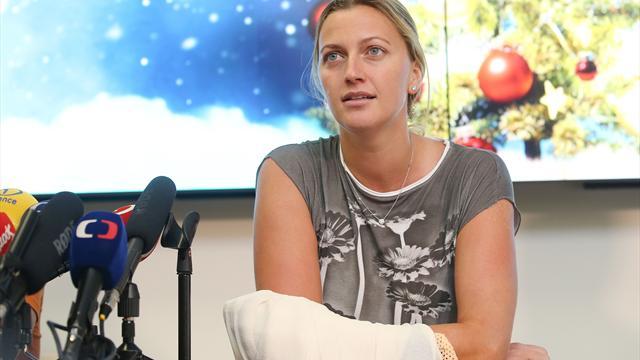 Kvitova auf dem Weg der Besserung, Rückkehr weiter offen