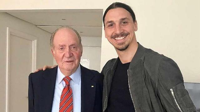 Ибрагимович о фотографии с Хуаном Карлосом I: «Король признал короля»