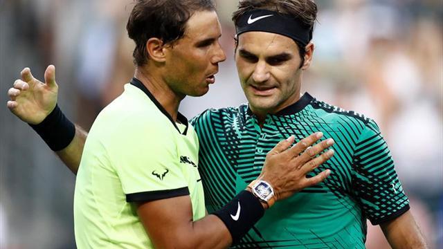Nadal y Federer no se verían hasta la final del Abierto de Miami
