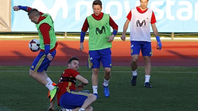Illarramendi entrena con normalidad; recuperación para doce internacionales