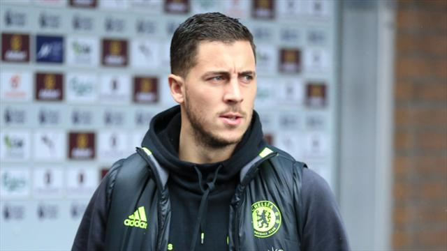 Calf injury keeps Chelsea's Eden Hazard out of Belgium games