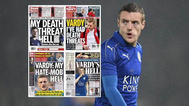 Paper Round: Vardy's death threat hell, Wenger's rebuilding job