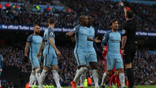 ФА обвинила игроков «Сити» в ненадлежащем поведении во встрече с «Ливерпулем»