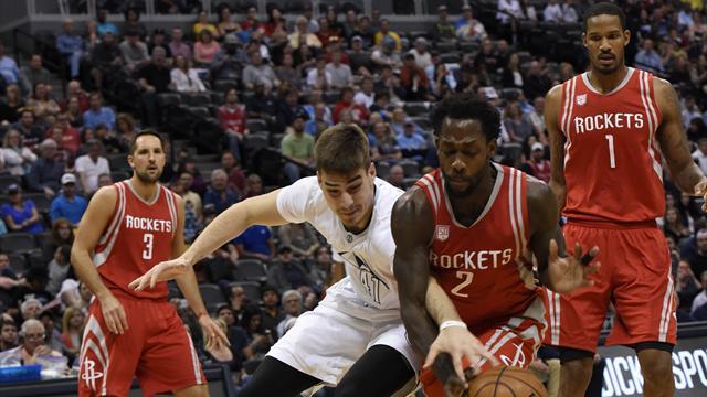 Rockets-Nuggets: Harden amarga la noche a Juancho (125-124)