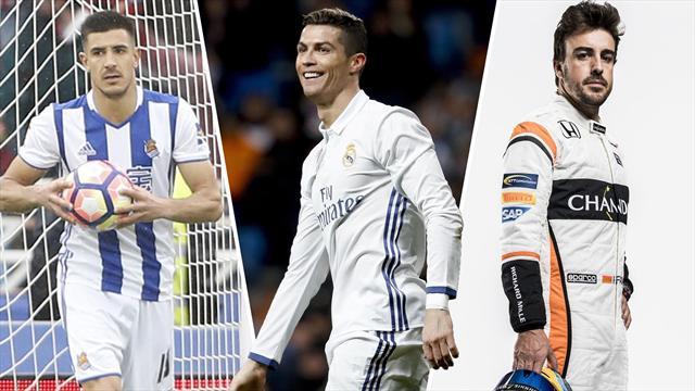 Un lateral izquierdo para el Madrid, Cristiano Ronaldo y Alonso, los nombres del día