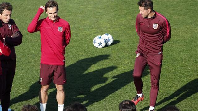 El éxodo de internacionales del Atlético deja a Simeone con ocho jugadores