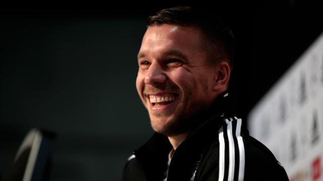 Hero's farewell for Germany's Lukas Podolski in Dortmund