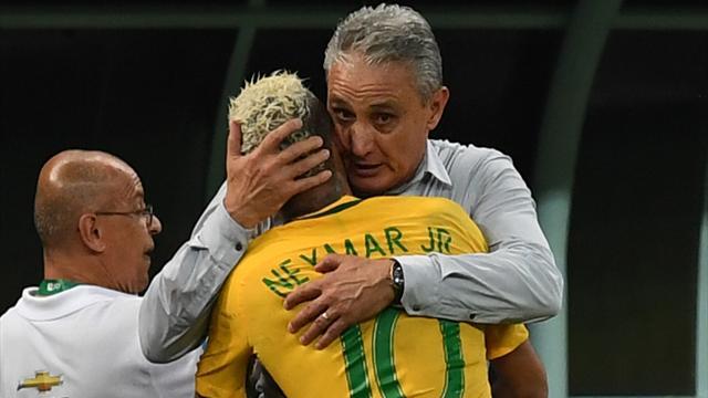 Tite : «Neymar mérite des éloges pour son comportement»