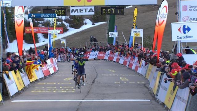 Valverde le plus fort au sommet, Van Garderen nouveau patron : le résumé de l'étape en vidéo