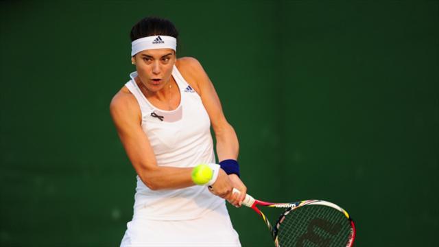 Sorana Cirstea progresses at Miami Open
