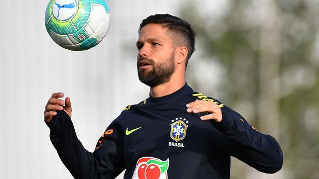 Brezilya'da Giuliano'nun yerine Diego Ribas kadroda