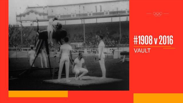 #Olympics 1908 vs 2016: Quanten-Sprünge bei Olympia