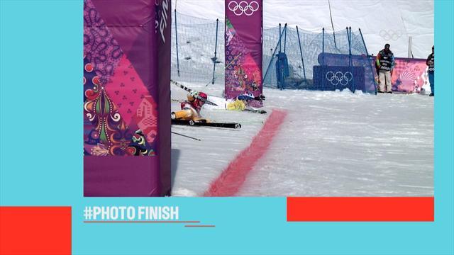 #Olympics Foto-Finish: Knapper geht nicht!