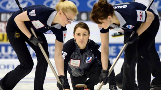Женская сборная России по керлингу вышла в плей-офф чемпионата мира
