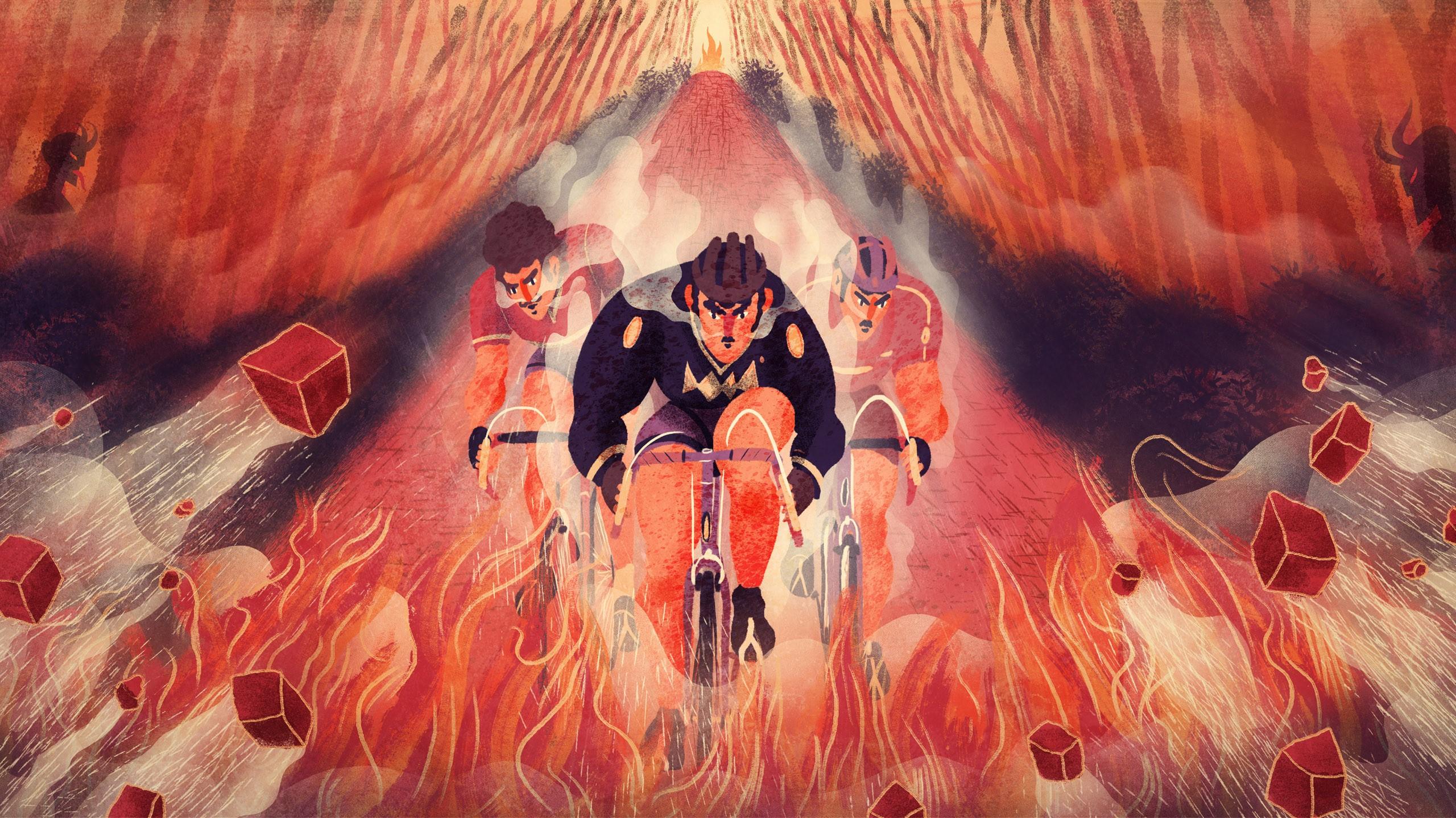 LLa trouée d'Arenberg, un enfer au coeur de l'Enfer du nord.