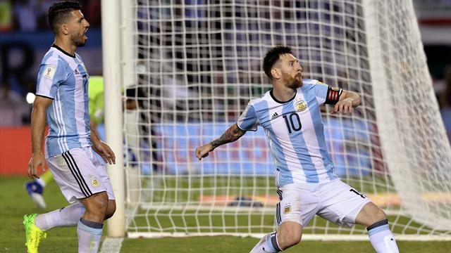 Argentina-Chile: Messi sale al rescate de la Albiceleste (1-0)
