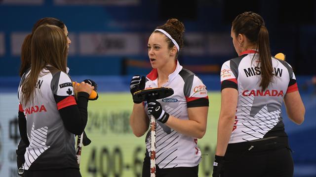 Rachel Homan wins gold at women's world curling championship