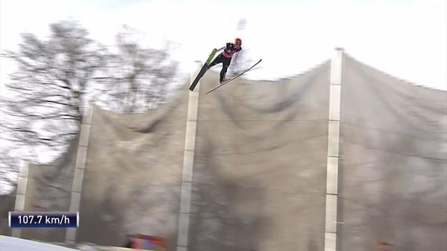 243,5 Meter! Eisenbichler kratzt am deutschen Rekord