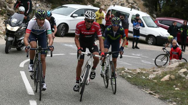 Valverde, a punto de conquistar la Vuelta a Cataluña