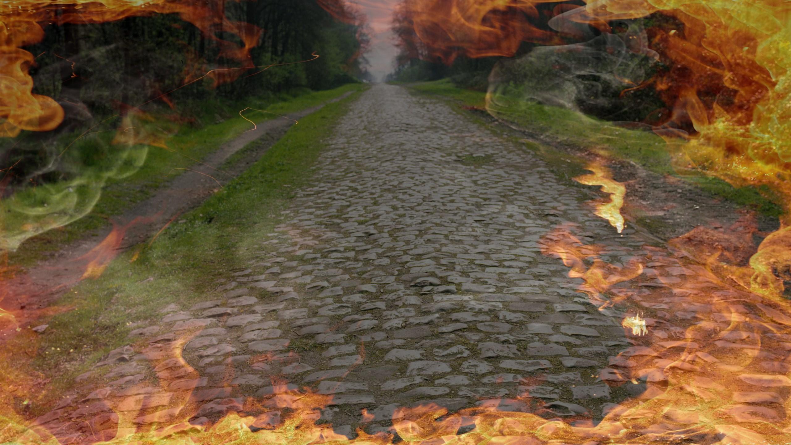 La trouée d'Arenberg, symbole de l'Enfer du nord
