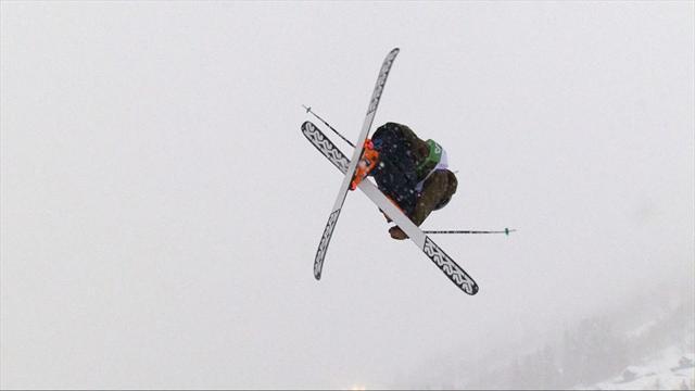 Christian Nummedal lands outrageous jump at Myrkdalen Big Air