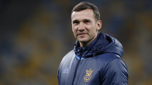 Шевченко продлил контракт со сборной Украины на 2 года