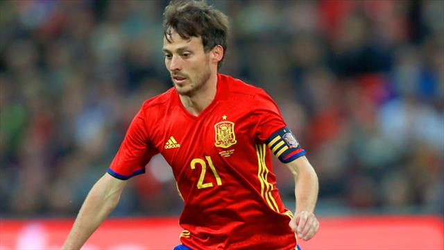 David Silva Inspires Spain To Convincing Group G Win Over