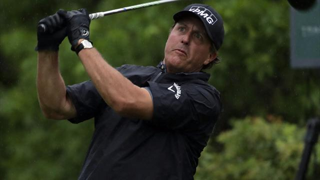 Mickelson officially withdraws from U.S. Open