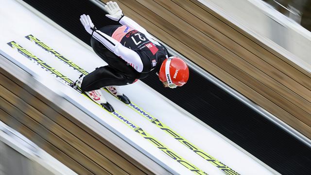 Eisenbichler holt sich den deutschen Skiflug-Rekord