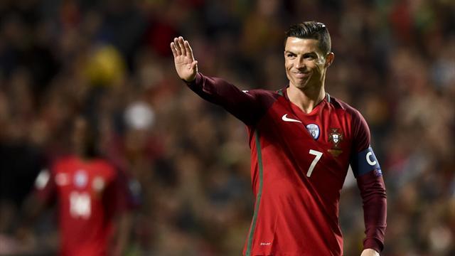 Clasificación Mundial 2018, Portugal-Hungría: Cristiano, seguro de vida (3-0)