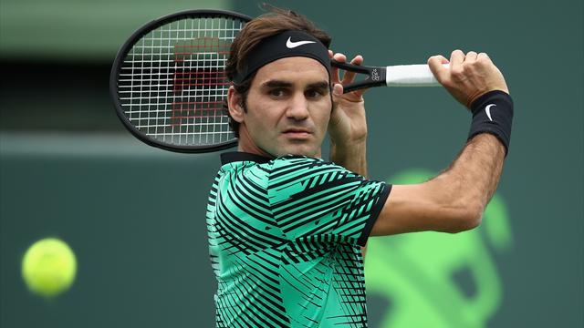 Entrée au petit trot pour Federer face à Tiafoe