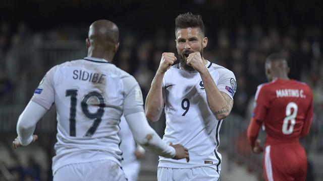 Giroud sort les Bleus du traquenard luxembourgeois