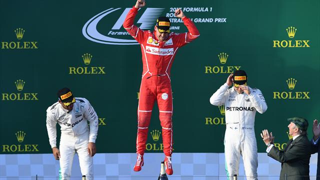Formula 1'de sezon açılışı Vettel'den
