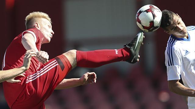 РФ начала борьбу вэлитном раунде юношеского Euro сничьей против Норвегии