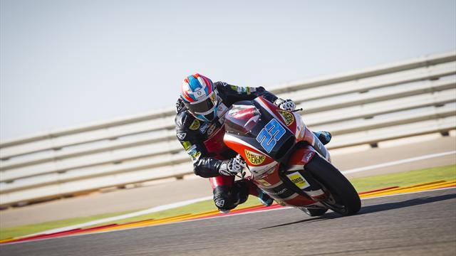 Rang drei: Moto2-Pilot Schrötter setzt Ausrufezeichen